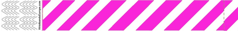 Plain Stripey Pink